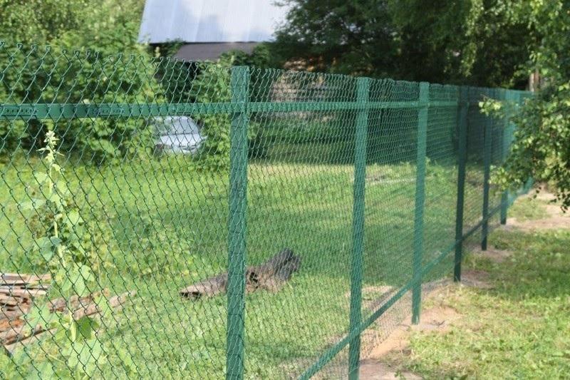 Забор ячеики сетка