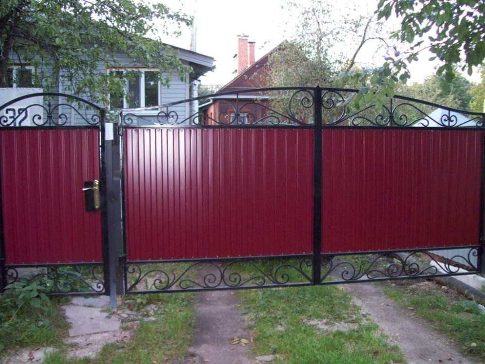 ворота распашные Красноярск