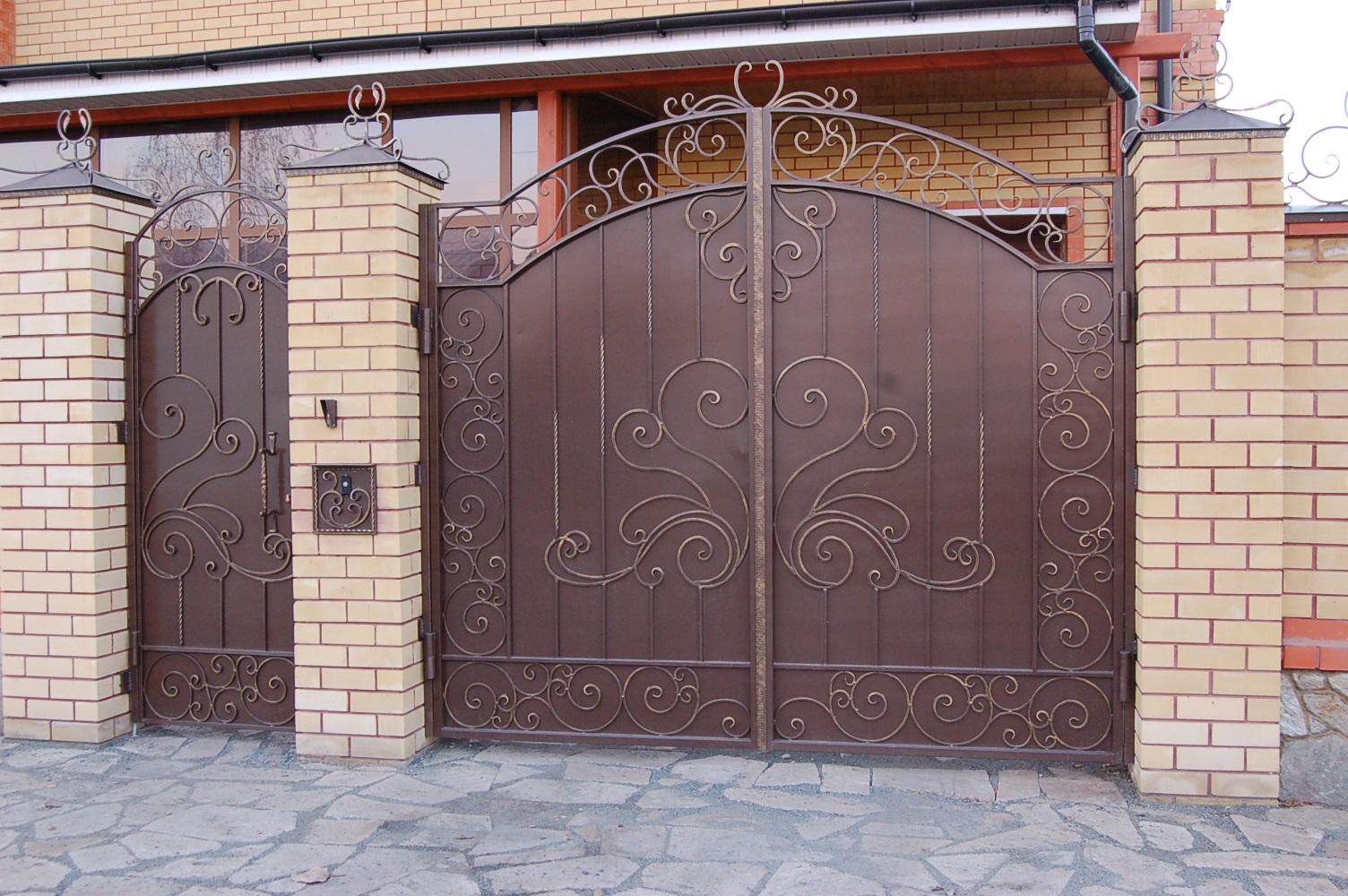 ворота ковка в Красноярске