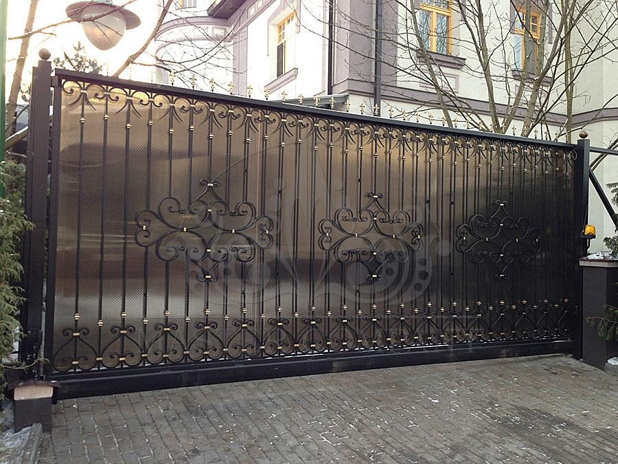 ворота откатные монтаж