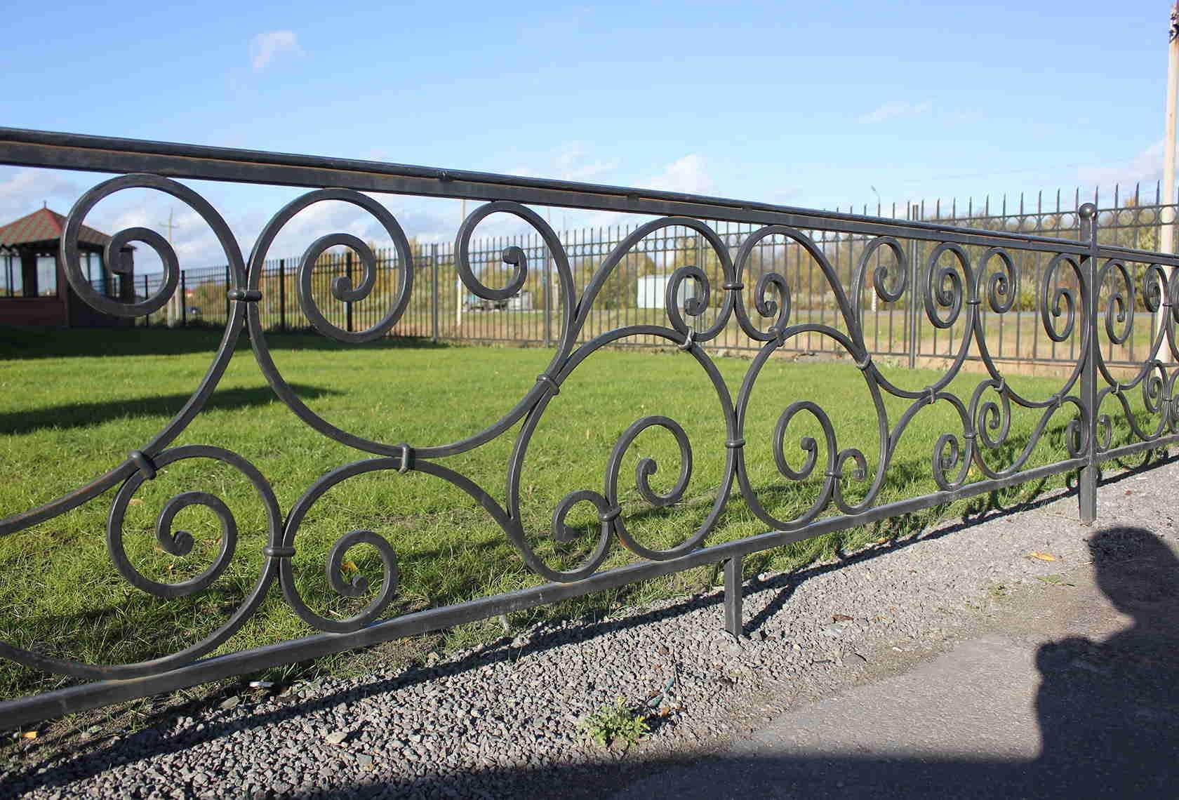 Забор ковка красноярск